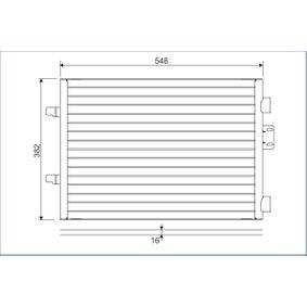 Kondensator, Klimaanlage 817602 CLIO 2 (BB0/1/2, CB0/1/2) 1.5 dCi Bj 2018