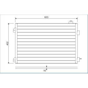 Kondensator, Klimaanlage 817646 CLIO 2 (BB0/1/2, CB0/1/2) 1.5 dCi Bj 2020