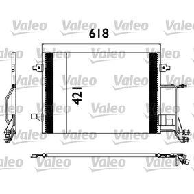 VALEO Kondensator, Klimaanlage 817666 für AUDI A6 (4B2, C5) 2.4 ab Baujahr 07.1998, 136 PS