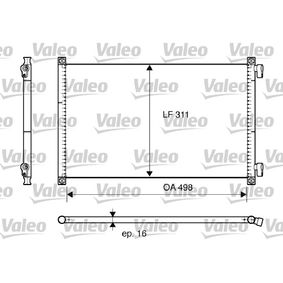 Kondensator, Klimaanlage Kältemittel: R 134a mit OEM-Nummer 46788052