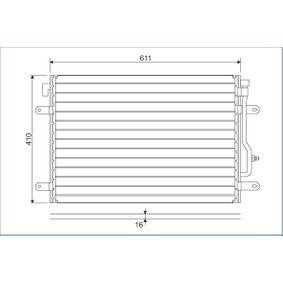 VALEO Kondensator, Klimaanlage 817741 für AUDI A4 Avant (8E5, B6) 3.0 quattro ab Baujahr 09.2001, 220 PS