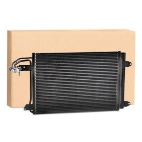 Kondensator, Klimaanlage Kältemittel: R 134a mit OEM-Nummer 1K0.820.411 AH