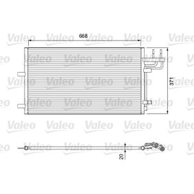 Kondensator, Klimaanlage Art. Nr. 818046 120,00€