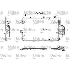 Kondensator, Klimaanlage Kältemittel: R 134a mit OEM-Nummer 9201960