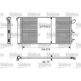 Condenser, air conditioning 818162 PANDA (169) 1.2 MY 2010