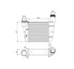 VALEO Ladeluftkühler 818757 für AUDI A4 (8E2, B6) 1.9 TDI ab Baujahr 11.2000, 130 PS