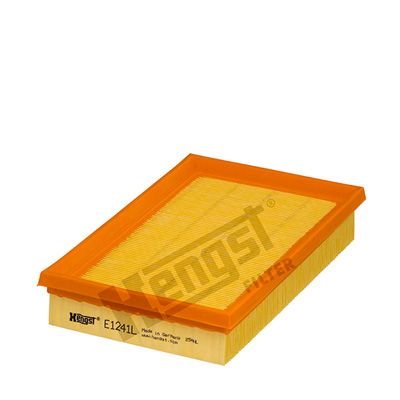 HENGST FILTER  E1241L Luftfilter Länge: 240mm, Breite: 148mm, Höhe: 42mm, Länge: 240mm