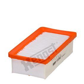 Luftfilter Länge: 230mm, Breite: 120mm, Höhe: 62mm, Länge: 230mm mit OEM-Nummer 7701 068 104