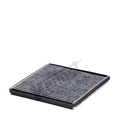 HENGST FILTER  E3904LC Filter, Innenraumluft Länge: 214mm, Breite: 199mm, Höhe: 20mm