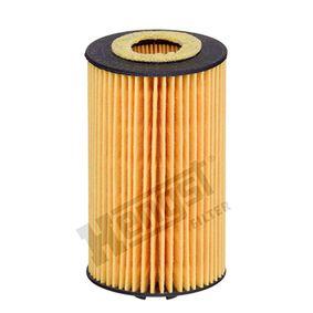 HENGST FILTER  E611H D256 Ölfilter Ø: 57,0mm, Innendurchmesser 2: 23,0mm, Innendurchmesser 2: 21,0mm, Höhe: 105,5mm