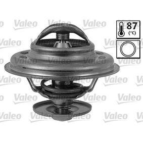 VALEO Thermostat, Kühlmittel 820063 für AUDI COUPE (89, 8B) 2.3 quattro ab Baujahr 05.1990, 134 PS