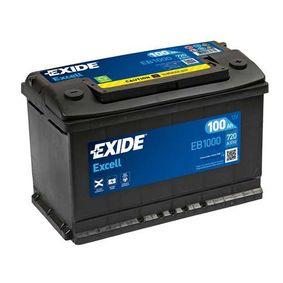 EXIDE Nutzfahrzeugbatterien 100 Ah , 12 V , 720 A , Bleiakkumulator