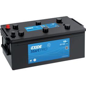 EXIDE Nutzfahrzeugbatterien 120Ah, 12V, 680A, B0, Bleiakkumulator