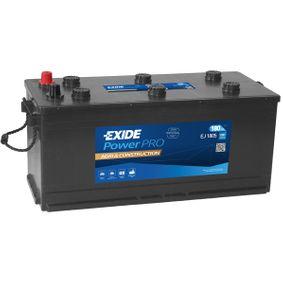 EXIDE Nutzfahrzeugbatterien 180Ah, 12V, 1000A, B3, Bleiakkumulator