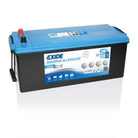EXIDE Nutzfahrzeugbatterien DUAL AGM, 140Ah, 12V, 700A, B0, DUAL, AGM-Batterie