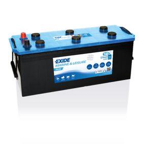 EXIDE Nutzfahrzeugbatterien EXIDE DUAL, 140Ah, 12V, 750A, B0, DUAL
