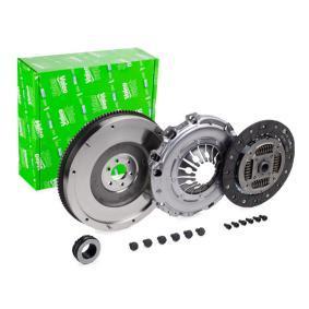 VALEO Kupplungssatz 835026 für AUDI A4 (8E2, B6) 1.9 TDI ab Baujahr 11.2000, 130 PS