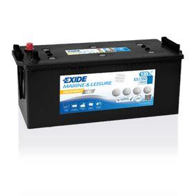 EXIDE Nutzfahrzeugbatterien Equipment GEL, 120Ah, 12V, 760A, B0, Gel-Batterie