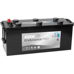 EXIDE Nutzfahrzeugbatterien 180Ah, 12V, 1000A, B0, erhöhte Zyklenfestigkeit