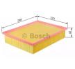 BOSCH Luftfilter F 026 400 390