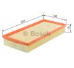 BOSCH Luftfiltereinsatz F 026 400 409