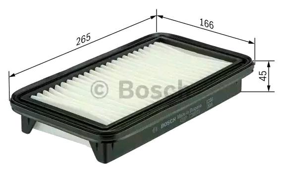 Luftfilter BOSCH F 026 400 420 Bewertung