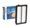 Filtro de aire HONDA CR-V 4 (RM_) 2019 Año S0439 BOSCH Cartucho filtrante