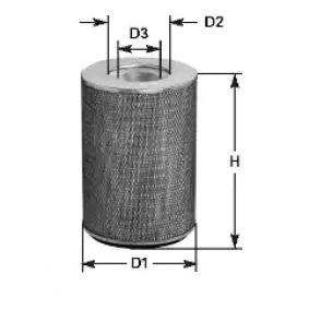 Luftfilter Höhe: 464,5mm mit OEM-Nummer 1387 549