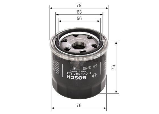 Filter BOSCH F 026 407 124 Bewertung