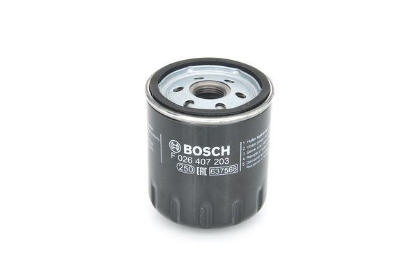 Motorölfilter F 026 407 203 BOSCH P7203 in Original Qualität