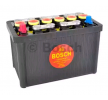 F026T02313 BOSCH classic Starterbatterie B00, 60Ah, 12V, 330A, Bleiakkumulator