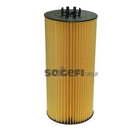 Ölfilter Ø: 121mm, Innendurchmesser: 57mm, Höhe: 264mm mit OEM-Nummer 0001802109