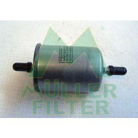 Renault Twingo 2 1.2 Turbo (CN0C, CN0F) Kraftstofffilter MULLER FILTER FB212 (1.2 Turbo Benzin 2013 D4F 782)