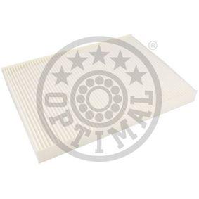 Filter, interior air with OEM Number 1H0 819 638 B