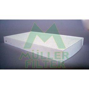 Filter, Innenraumluft Länge: 288mm, Breite: 160mm, Höhe: 30mm mit OEM-Nummer 6065 3641