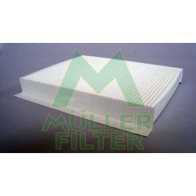 Filter, Innenraumluft Länge: 255mm, Breite: 230mm, Höhe: 30mm mit OEM-Nummer 6447FF