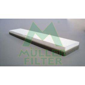 Filter, Innenraumluft Länge: 518mm, Breite: 106mm, Höhe: 30mm mit OEM-Nummer 3401 703