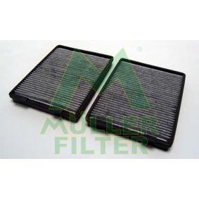 Filter, Innenraumluft Länge: 270mm, Breite: 200mm, Höhe: 30mm mit OEM-Nummer 64 11 8 391 198