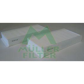 Filter, Innenraumluft Länge: 232mm, Breite: 116mm, Höhe: 32mm mit OEM-Nummer 64319297750