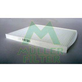 Filter, Innenraumluft Länge: 225mm, Breite: 200mm, Höhe: 17mm mit OEM-Nummer 9.71332E210