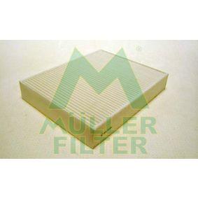 Filter, Innenraumluft Länge: 248mm, Breite: 198mm, Höhe: 40mm mit OEM-Nummer 6411 9237 554