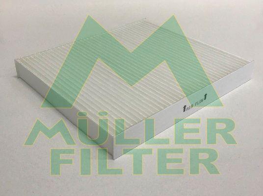 MULLER FILTER  FC458 Filter, Innenraumluft Länge: 216mm, Breite: 195mm, Höhe: 25mm