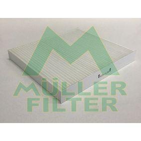 Filter, Innenraumluft Länge: 216mm, Breite: 195mm, Höhe: 25mm mit OEM-Nummer 05058693 AA