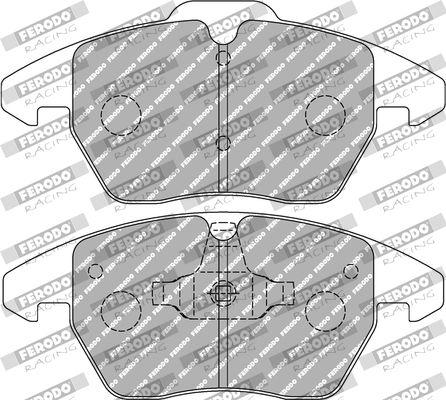 FERODO RACING  FCP1641H Juego de pastillas de freno Ancho 1: 71,4mm, Ancho 2: 66,0mm, Espesor 1: 19,4mm