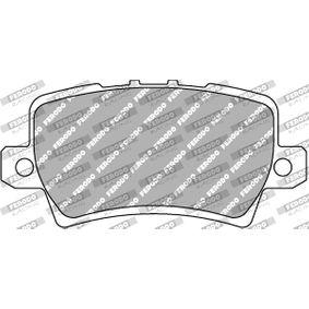 HONDA Civic VIII Hatchback (FN, FK) 1.4 (FK1, FN4) Motorlager FERODO RACING FCP1862H (1.4 (FK1, FN4) Benzin 2015 L13Z1)
