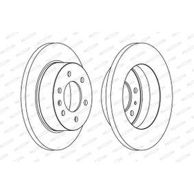 Bremsscheibe Bremsscheibendicke: 16mm, Lochanzahl: 6, Ø: 298mm mit OEM-Nummer A90 642 30012
