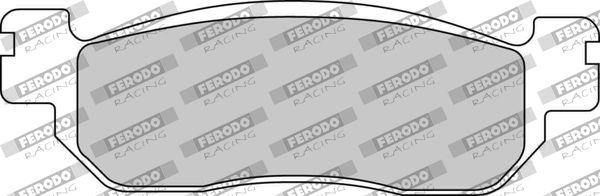 FERODO RACING  FDB2083EF Juego de pastillas de freno Ancho: 31mm, Espesor: 9,0mm