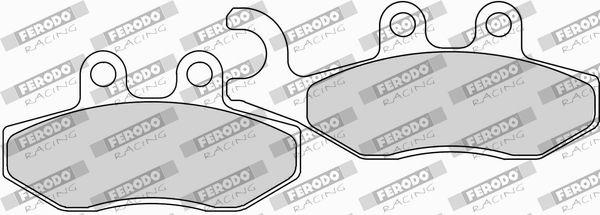 FERODO RACING  FDB2142EF Juego de pastillas de freno Ancho: 41mm, Espesor: 9,0mm