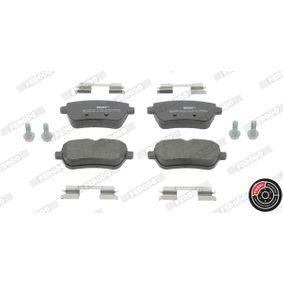 Bremsbelagsatz, Scheibenbremse Höhe 1: 55mm, Dicke/Stärke: 19,3mm mit OEM-Nummer 008 420 3420