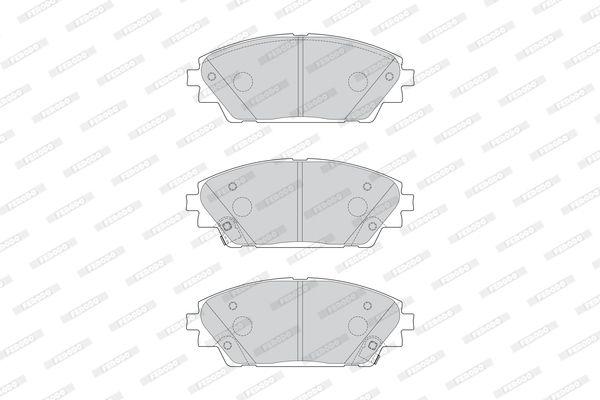 Disk brake pads FERODO 25876 rating
